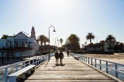 Port Melbourne boardwalk